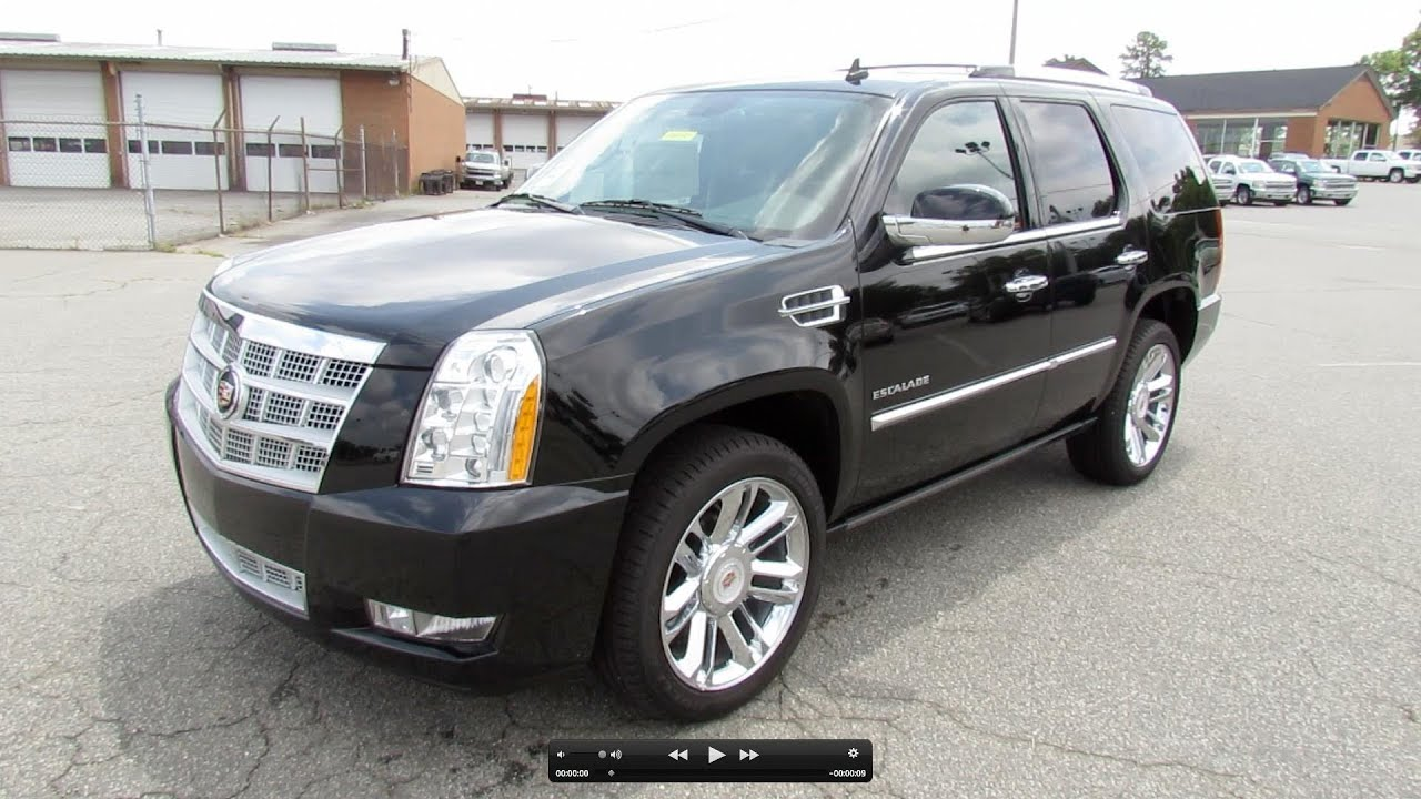 2012 Cadillac Escalade Platinum Collection Start Up Exhaust And