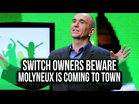 Peter Molyneux really wants to make games for the Switch