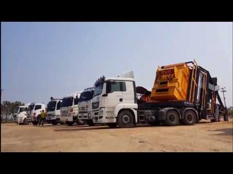 Asphalt Mixing Plant : Mobile-Hybrid By.PROTEX Group