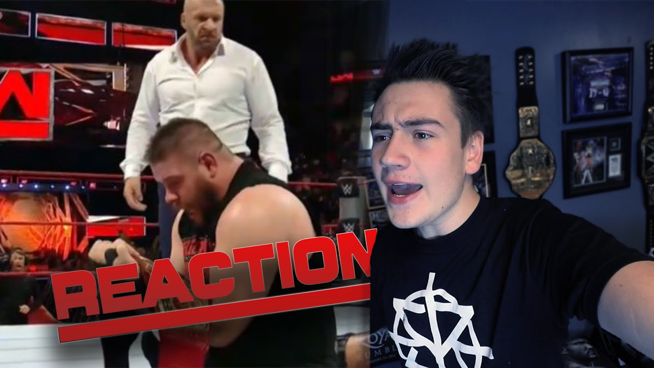 Download LIVE REACTION: Kevin Owens Wins Universal Title - WWE RAW 8/29/16
