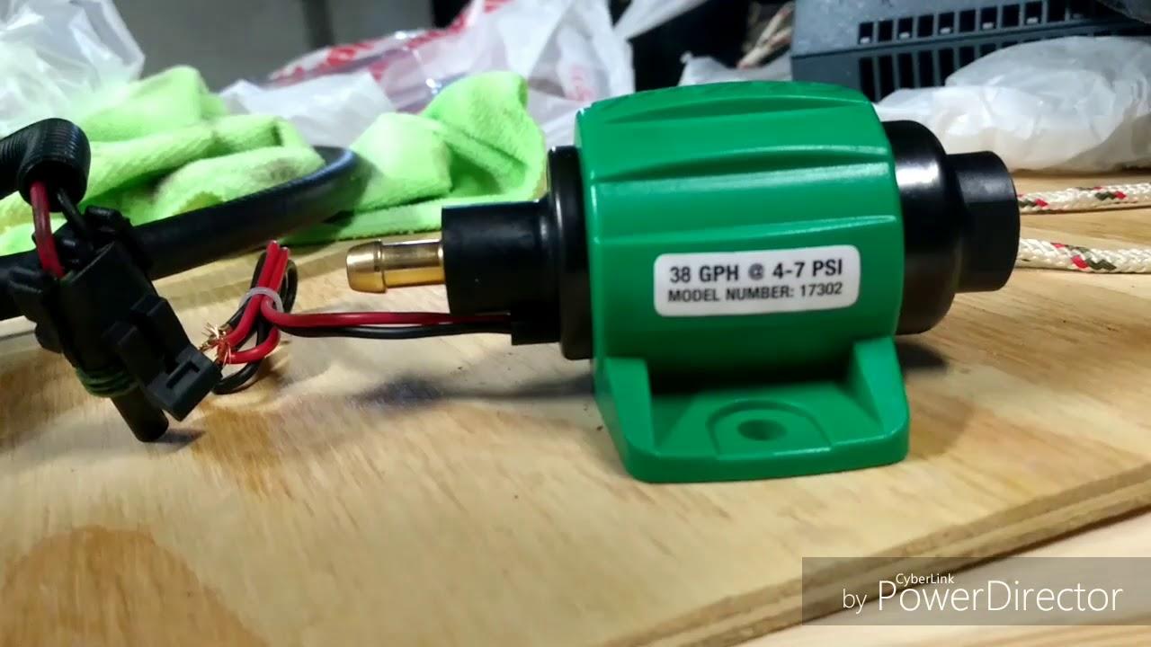 Thermoking apu won't start, fuel pump change
