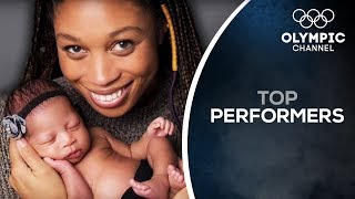 Aiming for the Olympics After Child-Birth ft. Allyson Felix | Top Performers
