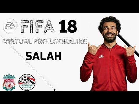 FIFA 18 | VIRTUAL PRO LOOKALIKE TUTORIAL - MOHAMED SALAH