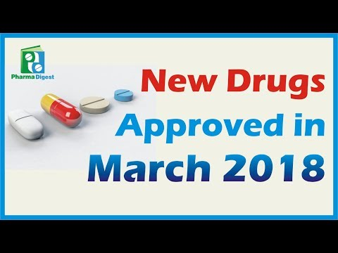New Drugs approved by FDA in MARCH 2018