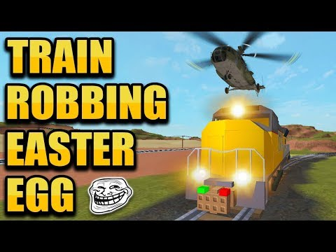NEW TRAIN ROBBING EASTER EGG!! 🚆 (Roblox Jailbreak New Update)