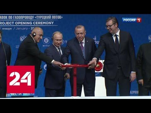 """""""Турецкий поток"""": Москва и Анкара послали сигнал всему региону - Россия 24"""