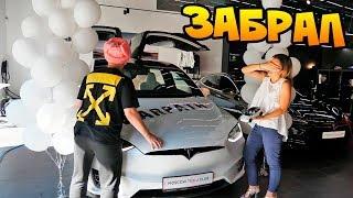 Забираю и Насилую свою первую машину - Tesla Model X P100D за 17.000.000 рублей! #ТеслаНамбаВан