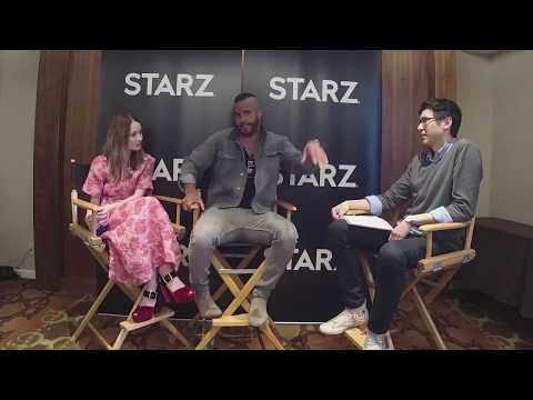 Emily Browning and Ricky Whittle interview