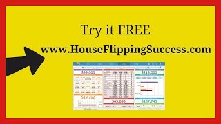 real estate analysis spreadsheet for House Flippers