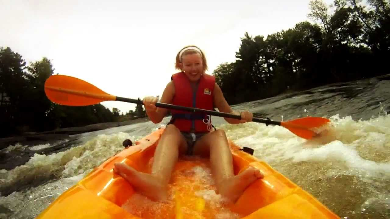 Sit On Top Kayaks In Whitewater Rapids Dangerously Fun