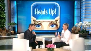 Jeremy Renner Acts It Out for Ellen