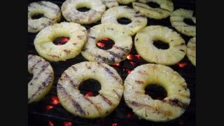How to Make Grilled Pineapple:  Noreens Kitchen