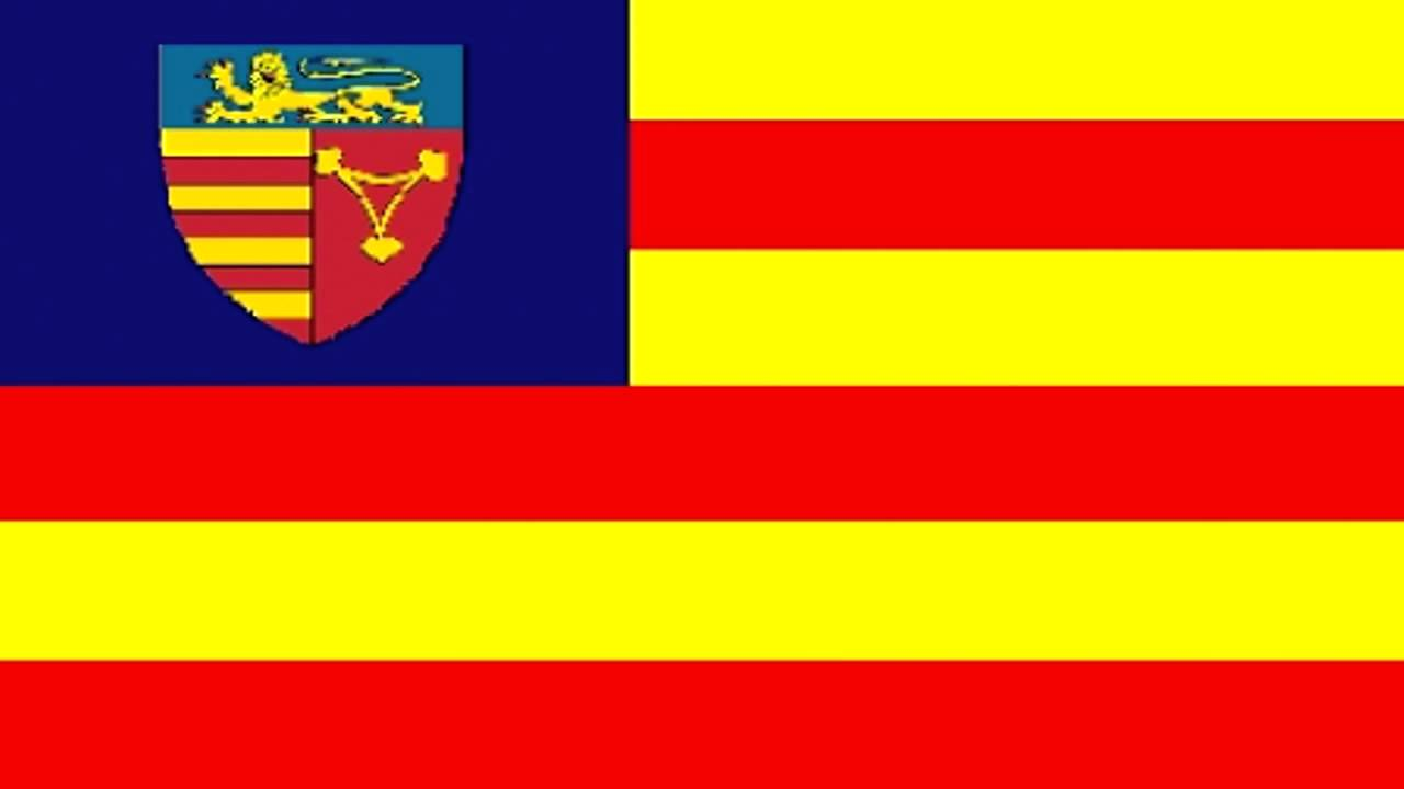 Flag Of Sibiu County Romania Youtube
