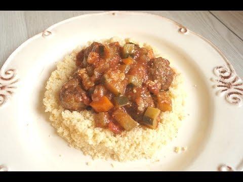 boulettes-de-viande-hachée-à-la-marocaine