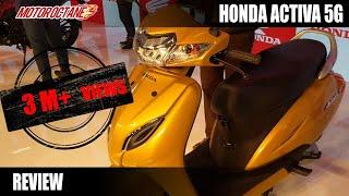 Honda Activa 5G Review in Hindi | Auto Expo 2018 | MotorOctane thumbnail