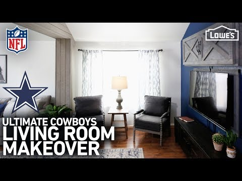 nfl-homegating-makeover:-dallas-cowboys-(w/-monica-from-the-weekender)
