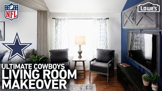 NFL Homegating Makeover: Dallas Cowboys (w/ Monica from The Weekender)