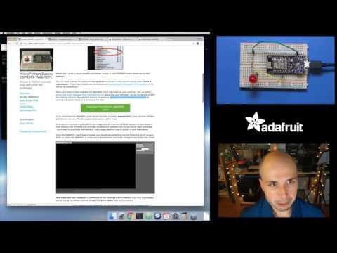 MicroPython Basics: ESP8266 WebREPL with Tony D! @micropython #LIVE