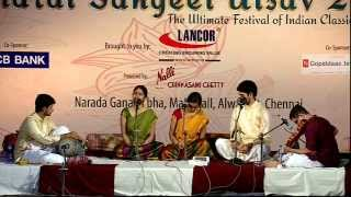 Bharat Sangeet Utsav 2015 | Carnatic Premier League | Carnatic Music Concert