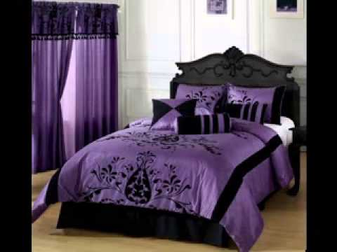 Purple And Brown Bedroom Ideas Youtube