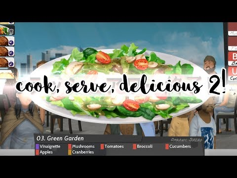Cook, Serve, Delicious 2 is not a stressful game at all |