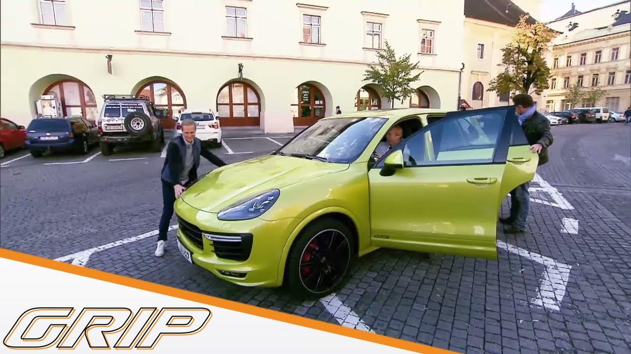 Mit Porsche Cayenne GTS in den Karpaten - GRIP - Folge 388 - RTL2