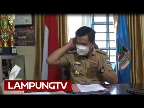 Sekda Pesisir Barat Positif Corona, Isolasi di Lampung Selatan