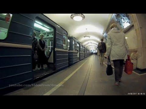 Переход метро Новокузнецкая - Третьяковская 24.06.2017