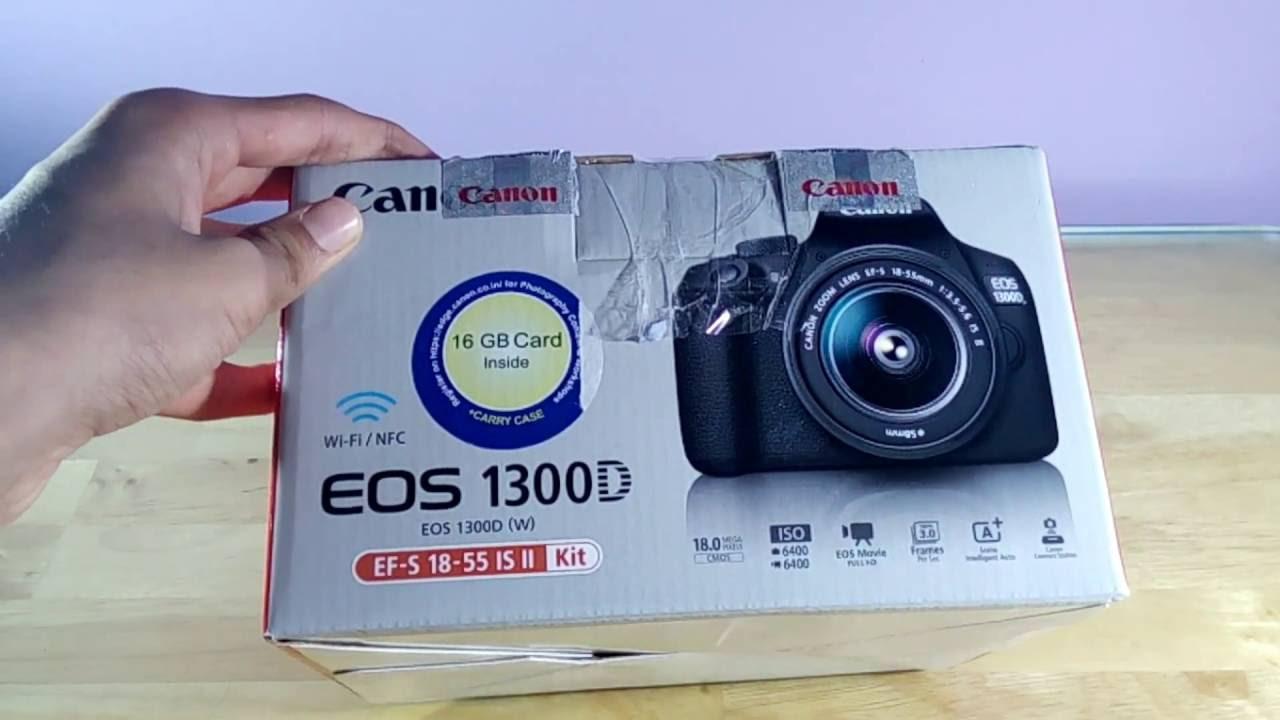 Canon EOS 1300D/Rebel T6 Unboxing & Quick Setup!!!