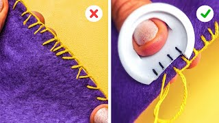 BRILLIANT SEWING TIPS || 5-Minute Recipes To Become A Needlework Pro