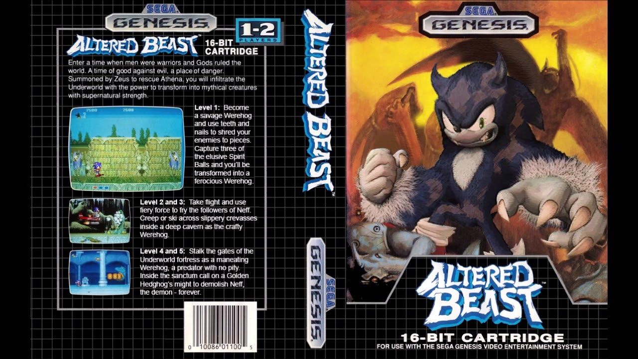 Altered Beast Rise From Your Grave Sonic 2 Remix Youtube