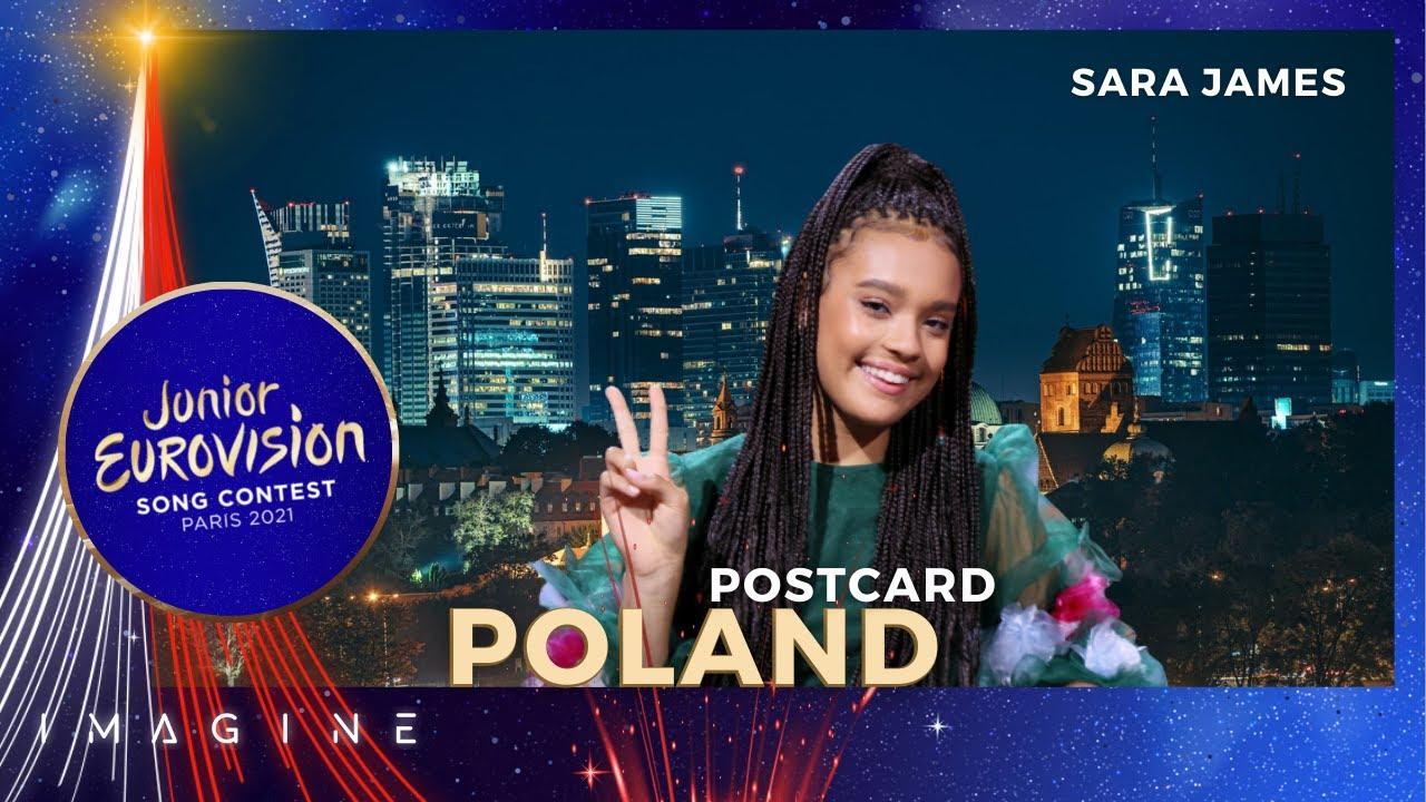 Download Postcard of Poland • Sara James - Somebody • Junior Eurovision 2021 🇵🇱