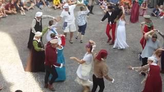 Gromo medievale: Chapelloise in animazione