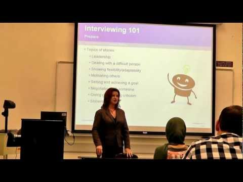 Behavior Based Interviewing Skills - SCPD CBA CSULB