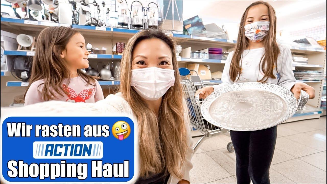 Download Action Shopping mit 2 Kindern 🤑 Mädchen Tag XXL Haul! Weihnachtsgeschenke & Spielzeug   Mamiseelen