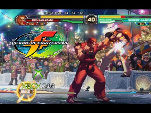 The King Of Fighters Xii Playthrough Xbox 360 Youtube