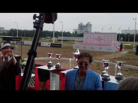 "Григорий Лепс: ""Всем удачи!"".  Скачки GRAND PRIX RADIO MONTE CARLO. 2019"