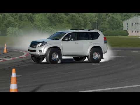 Forza 7 Toyoata Land Cruiser Prado Arctic Track AT37 V8 Drifting!