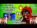 THE ENDING! Beyonce - Run The World + Flawless + Yonce - LIVE! - REACTION