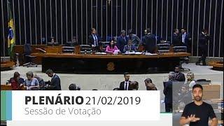 Plenário - Sessão Deliberativa - 21/02/2019 09:00