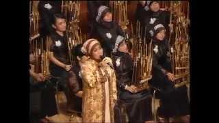 Melati Suci (Angklung) with Aning Katamsi | KPA SMAN 3 Bandung | KOA VIII