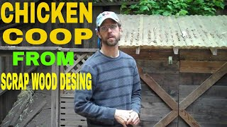 All Recycled Wood Chicken Coop