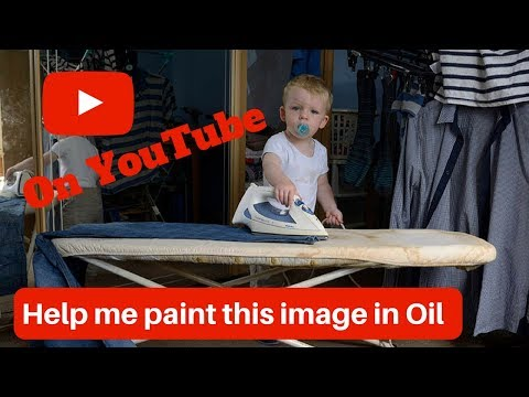 John Boyle Art Live Stream  Learn how to paint with oil paints