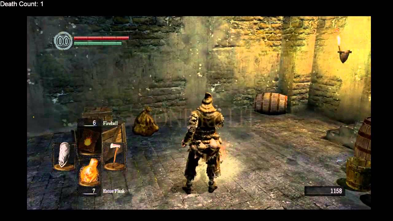 Dark Souls Session 1 - Elite Knight Armor - YouTube