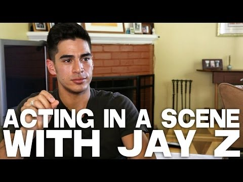 Acting In A Scene With Jay Z by Michael Galante