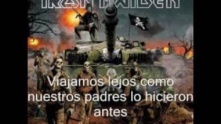 These colours don't run-Iron Maiden (subtitulada al español)