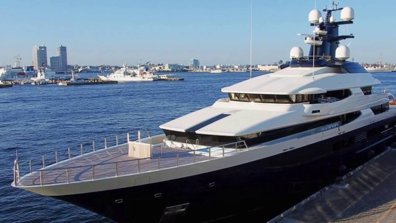 175Million 300ft Yacht FOR SALE The Improved 45m BRAVADO Superyachts In Movies Much More