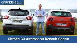 comparatif citron c3 aircross vs renault captur duel franco franais