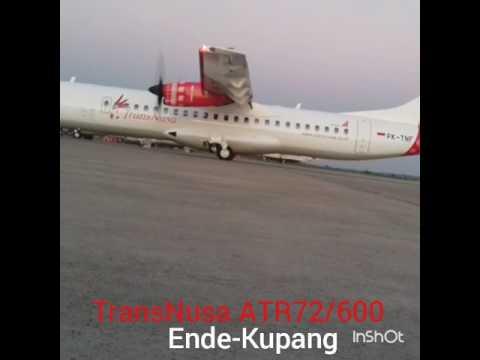 TransNusa ATR72/600 ENDE-KUPANG