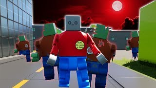 USING A PORTAL TO LEGO CITY ZOMBIE WORLD - Brick Rigs Gameplay Roleplay